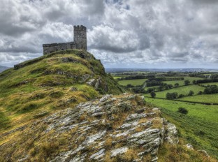 The church of St. Michael de Rupe, Brentor, Dartmoor
