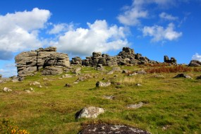 Dartmoor Tor, Dartmoor National Park, Devon, UK